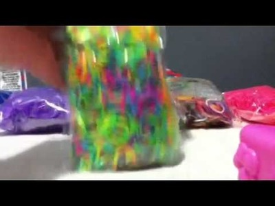 RAINBOW LOOM HAUL FIRST EVER AT MICHAELS