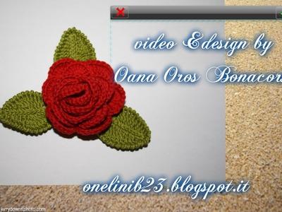 Rosa con foglie seconda parte