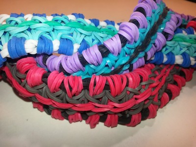 Side Wrap Bracelet Tutorial by feelinspiffy (Rainbow Loom)