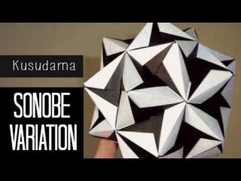 Tutorial Origami Ball. Kusudama (Sonobe Variation)