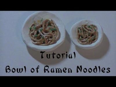Tutorial: Polymer Clay Bowl of Ramen Noodles
