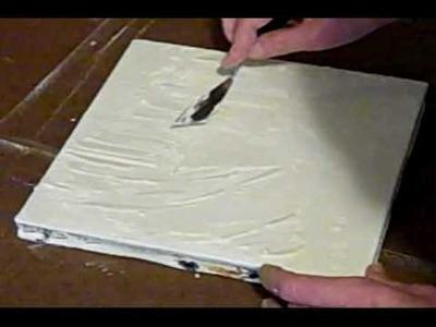 Acrylic & Mixed Media - Part 1 of 3. how-to tutorial by Caroline Jernigan