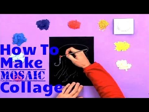 Art Attack   How To Make A Mosaic Collage   Disney India Official