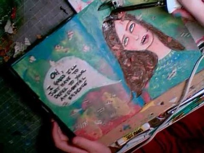 Art Journal Page: Anecdotal Evidence