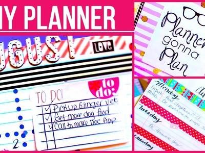 DIY Back to School Planner with Belinda
