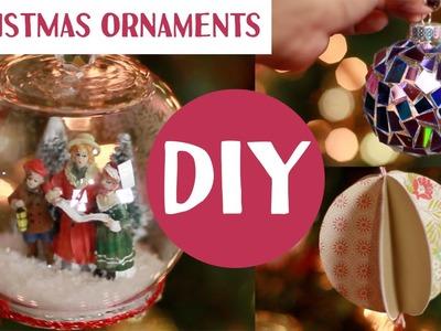 DIY Christmas Ornaments | Stephanie Nadia