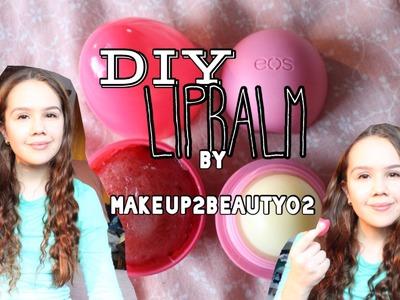 DIY Eos Lipbalm