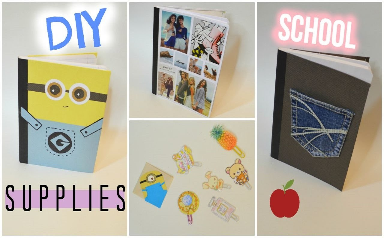 ✂ DIY School Supplies!
