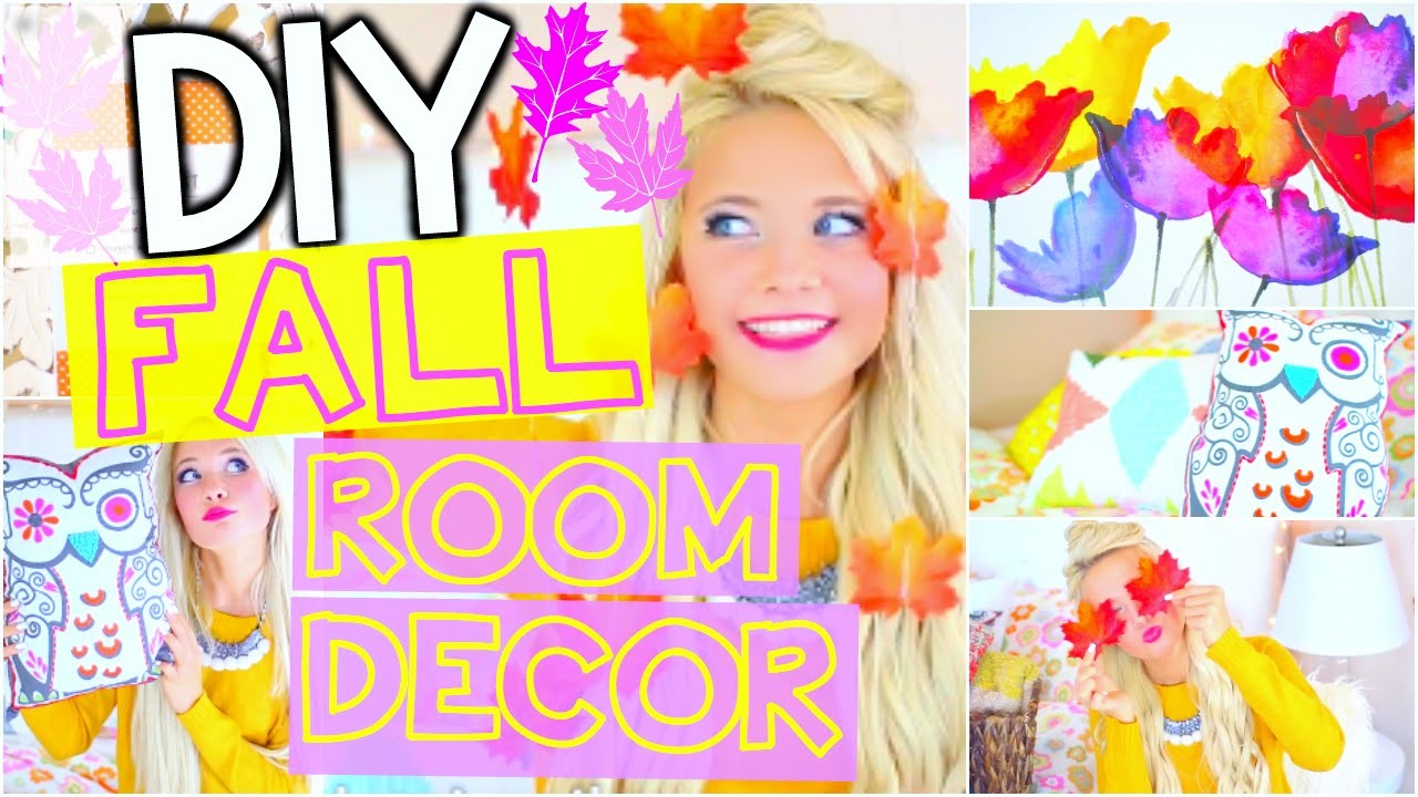 DIY Tumblr Room Decor for Fall! How to Make Your Room Cozy!