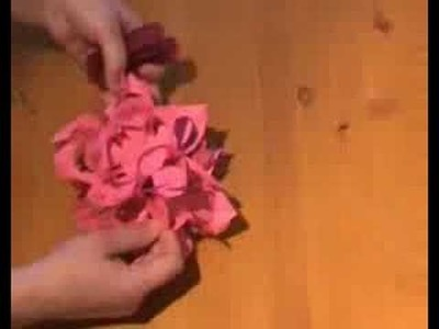 Flower paper home made