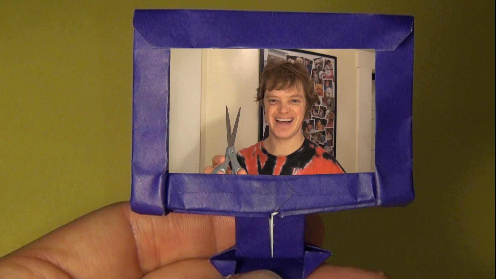 Fold an Origami HDTV! by Jeremy Shafer