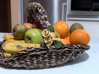 FRUTERA TEJIDA - WEAVED FRUIT DISH