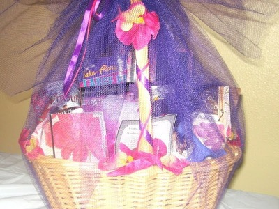 Gift Basket Instructions - How to Make a Beautiful custom-made Gift Basket Part one