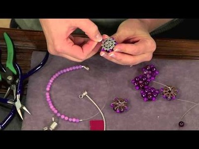 How To Make a Colorful Botanical Necklace