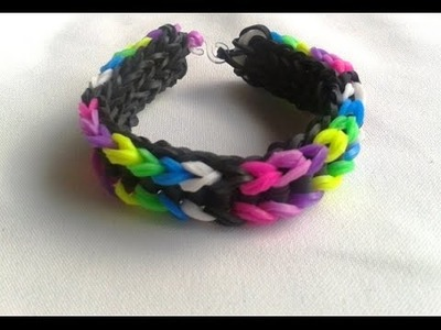 How to make elastic bracelets with rubber bands and without Loom