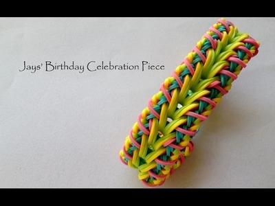 Jays' Birthday Celebration Piece - Advanced Hook Only Bracelet