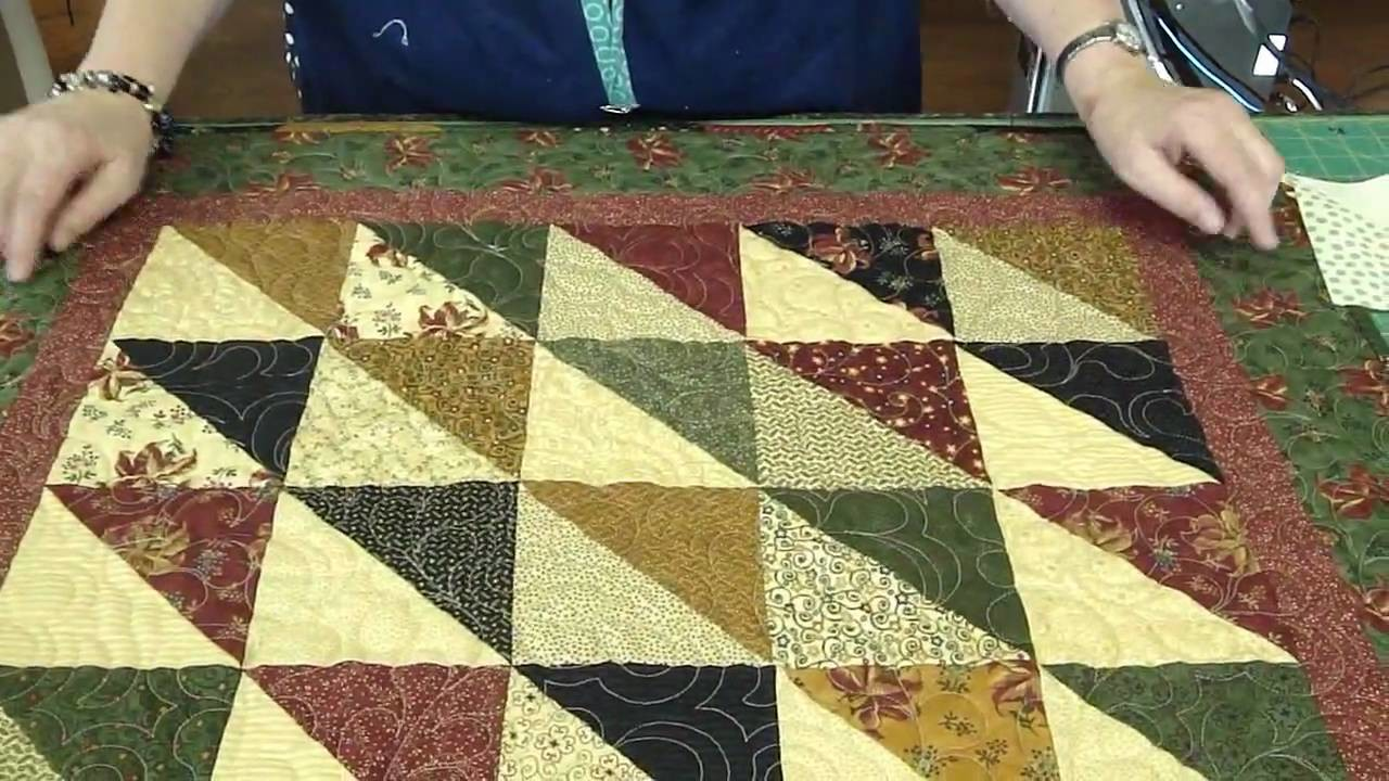 "Make a ""Light and Dark"" Quilt Using Turnovers - Turnover Week"