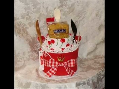 My diaper cakes and more