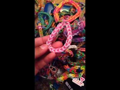 My loom band collection