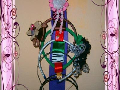 Organizador de Diademas. How to Organize your Hair Accessories (Tiaras, Headband)