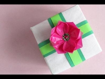 Origami Lotus -- Flor de Loto o Nenúfar