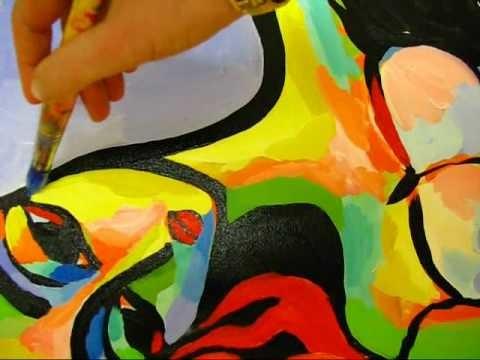 Original Acrylic Figure Painting by artist Martina Shapiro