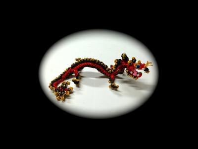 Part 5.5 Rainbow Loom Chinese Dragon Baby (1 Loom)