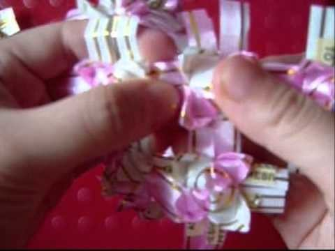 PRETTY ribbon heart, ball & chandelier tutorial part 3