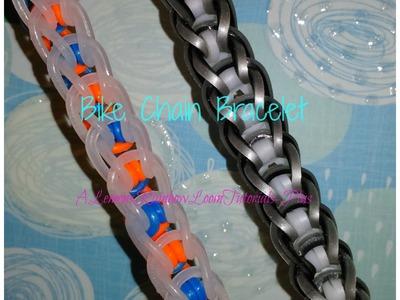 Rainbow Loom - Bike Chain Bracelet (Reversible) | How To
