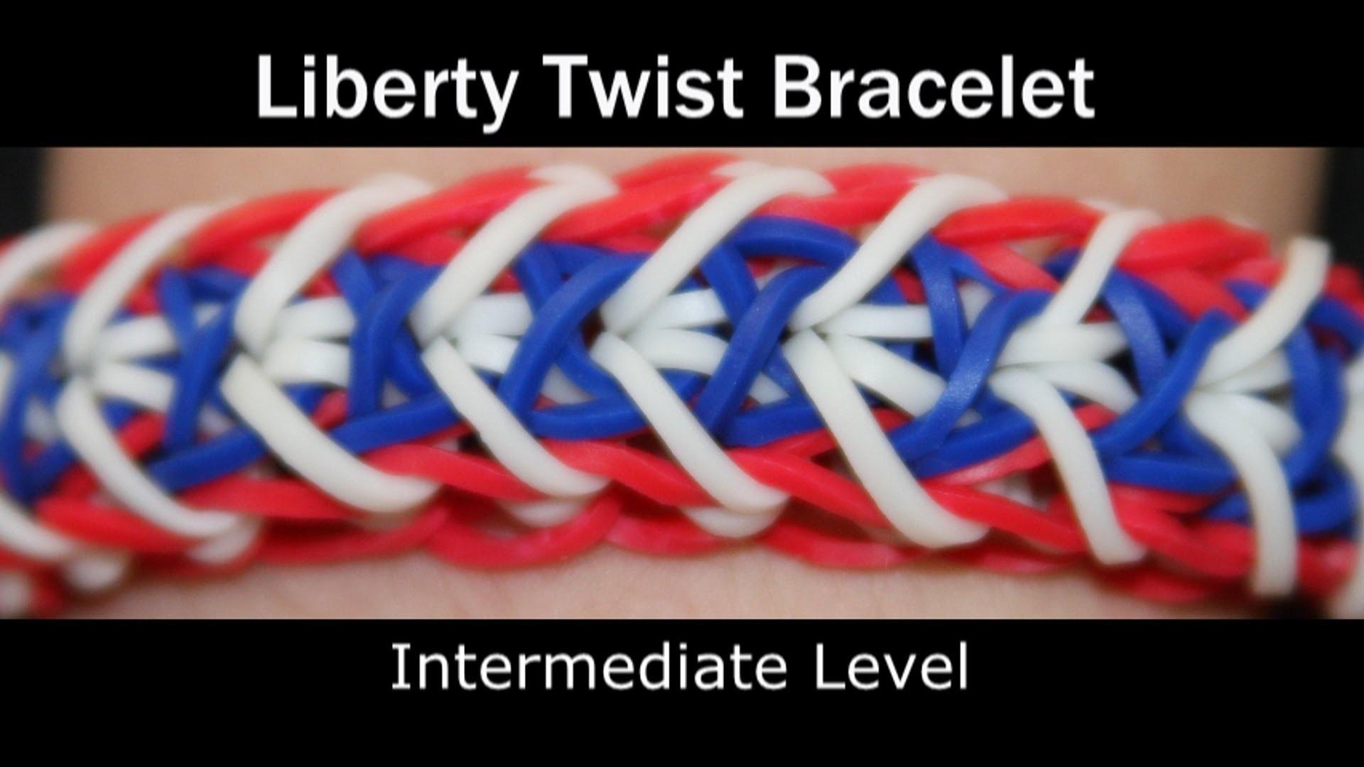 Rainbow Loom® Liberty Twist Bracelet