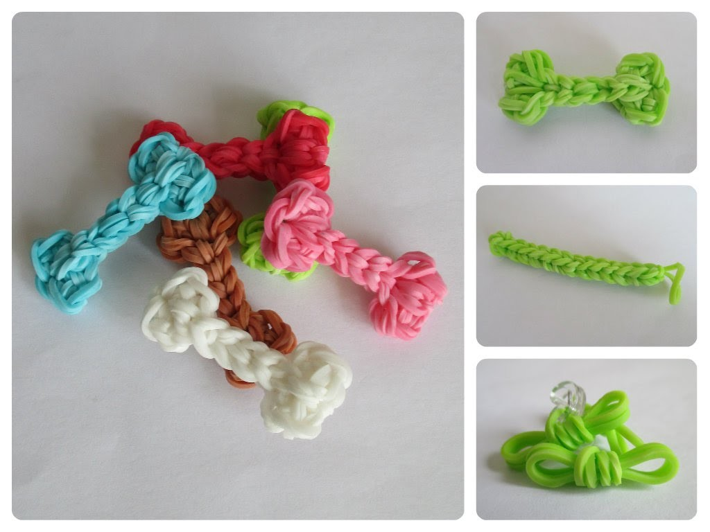 Rainbow Loom poodle Part 3.3 accessories Loombicious