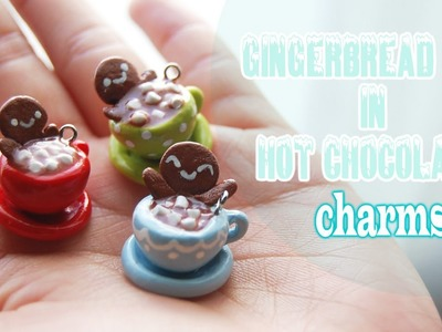Tutorial: Gingerbread Men in Hot Chocolate charms