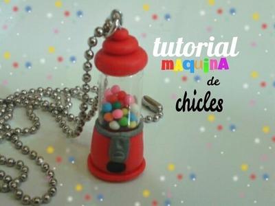 "Tutorial maquina de chicles ""porcelana fria"""