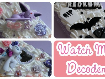 Watch Me Decoden! Espeon, Creepy Cute and My Little Pony
