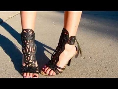 20 Bright DIY Summer Sandals And Flip Flops