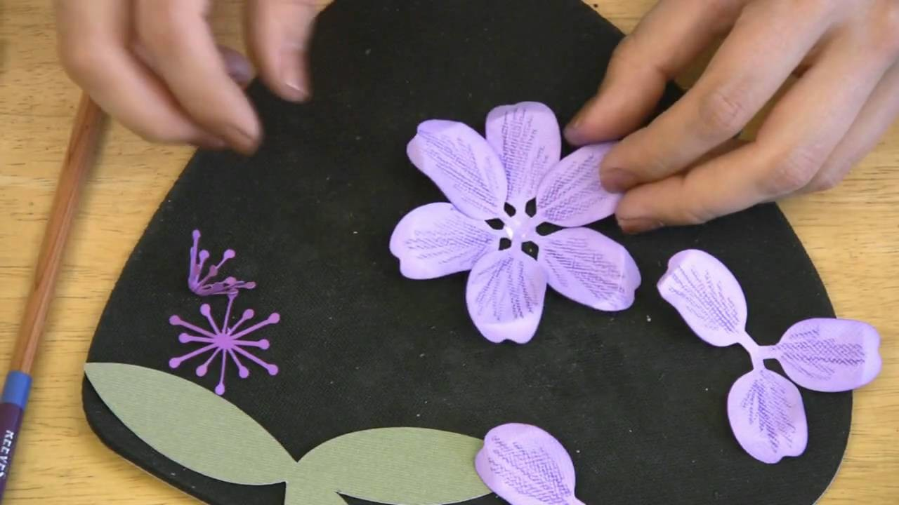 3D Flowers II Video Tutorial Part 3