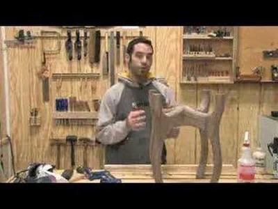 41 - How to Design & Build a Sculpted End Table (Part 5 of 6)