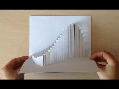 Amazing Wave Pop Up Card Tutorial