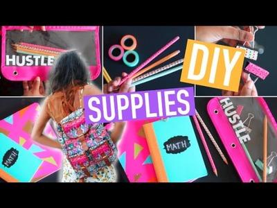 Back to School: DIY School Supplies! Easy & Cute! 2015