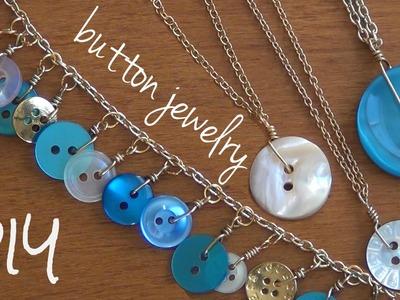Button Jewelry ♥ DIY