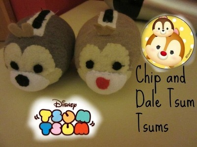 Chip and Dale tsum tsum tutorial | Tiny sparkles