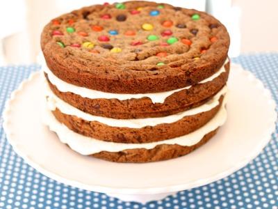 Chocolate Chip Cookie Cake - Gemma's Bigger Bolder Baking Episode 2 - Gemma Stafford