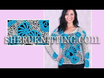 Crochet Blouse Model 2  Crochet Pattern