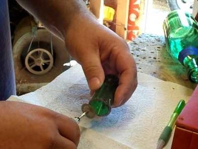 Cutting a bottle neck slide by Back Porch Mojo