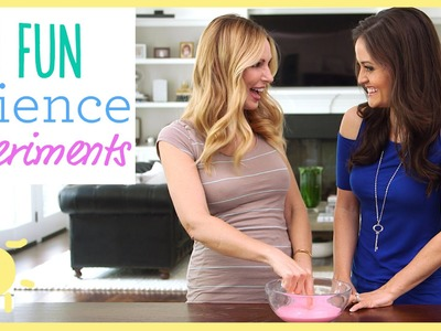DIY | 3 Amazing Science Experiments (Ft. Danica McKellar)