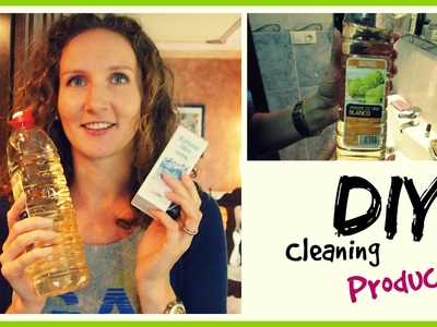 DIY Cleaning Products - Clean Everything in Your Home with 3 Ingredients | VitaLivesFree