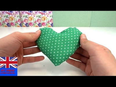 DIY Easy Tutorial: How to make this lovely pillow heart?