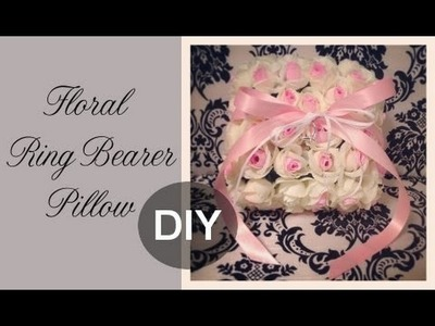 DIY Floral Ring Bearer Pillow: Guest Florist Tracy