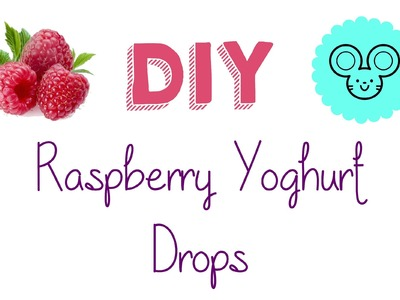 DIY Hamster Yoghurt Drops!