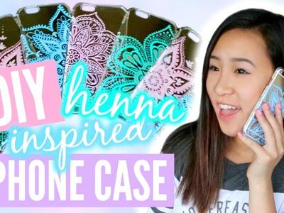 DIY Henna Inspired Phone Case | TutorialsByA